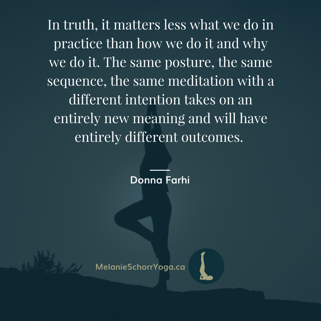 what really matters about yoga